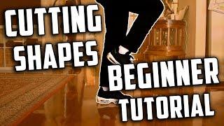 Cutting Shapes Beginner Tutorial / Easy Beginner Steps (How to Shuffle)