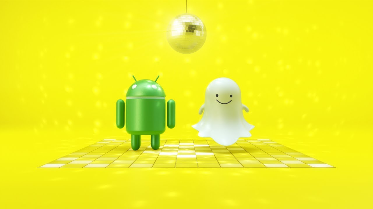 To Android  Love, Snapchat  | Now in sync