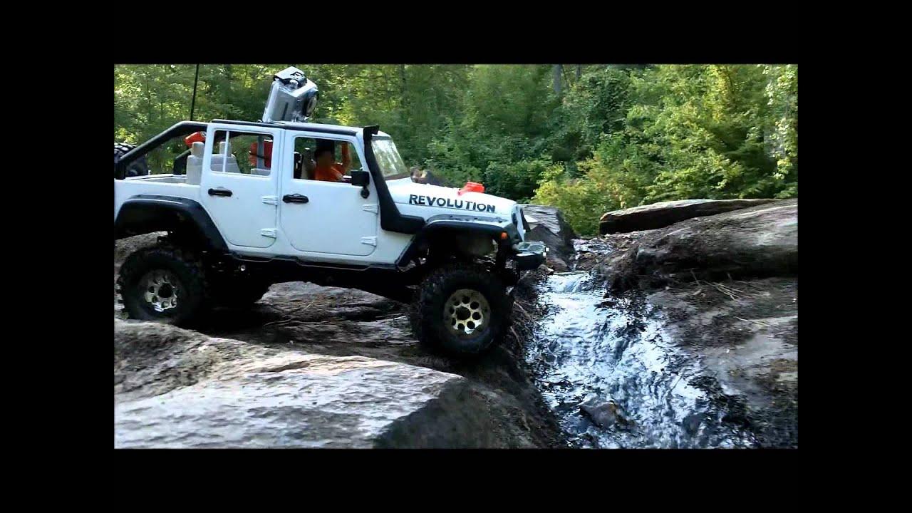 Jeep Rock Crawler Rc 4x4 110 Scale Jeep Jk Wrangler Rubicon River Run Rock Crawling