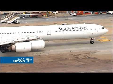 Zimbabwe grounds SAA flight, cites operations permit
