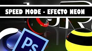 Wallpaper Neon - C4D - PS - SpeedMode