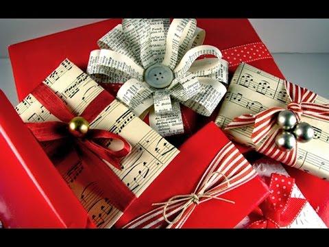 50 ideas para empaques navide os envolturas para regalos for Envolturas para regalos