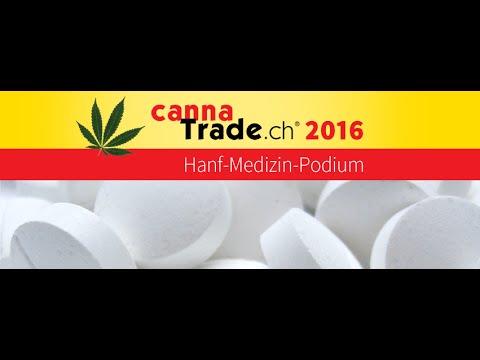 Hanf - Medizin - Podium @ CannaTrade 2016, 2-4 September, Dietikon/Zürich
