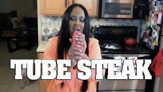 Mariah Milano's  Hot Beef Tube Steak!