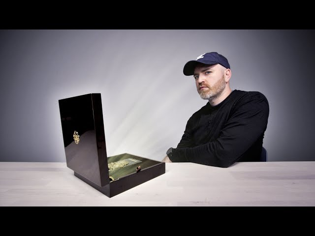 Unboxing a $25,000 Smartphone