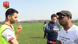 Moh Competes To Play With Ian Wright