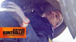 Defekte Stoßdämpfer: Darf der LKW weiterfahren? (1/2) | Achtung Kontrolle | kabel eins