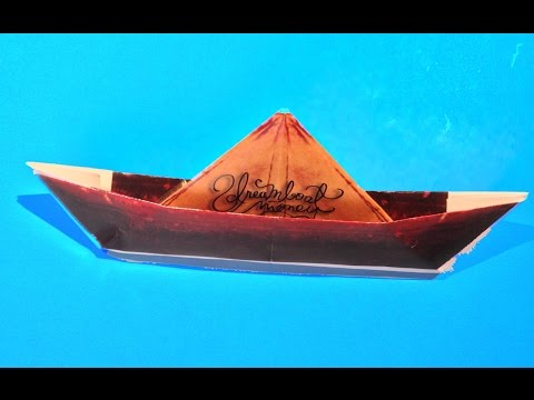 How To Make Paper Boat Link To Template Download Included