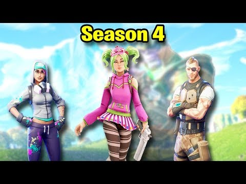 Fortnite SEASON 4 Montage! #2 (Best Moments, Highlights, & Nostalgia)