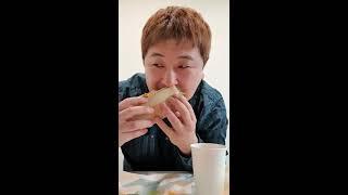 365샌드위치 먹는남자) subway korea 서브웨…