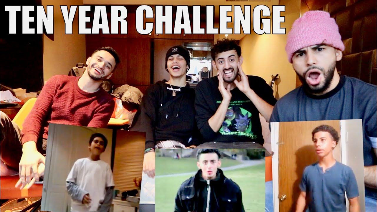 WATCHING VIDEOS FROM 10 YEARS AGO!! (TEN YEAR CHALLENGE ...
