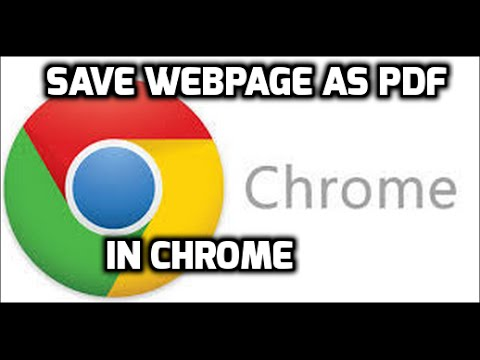 How to Save A Webpage As PDF File In Microsoft Edge