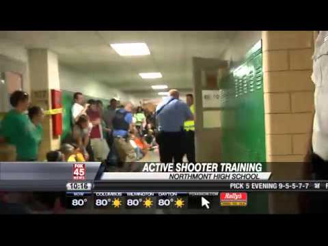 Northmont Hosts Active School Shooter Training - YouTube