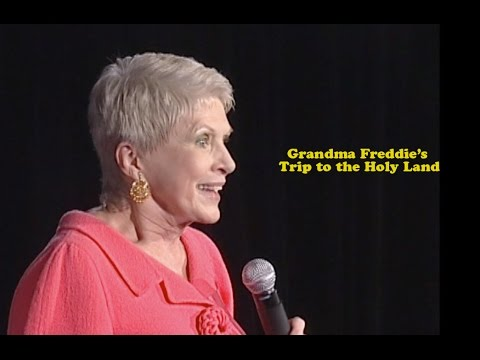 Jeanne Robertson | Grandma Freddie's Trip to the Holy Land ...