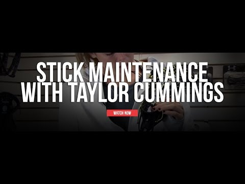 Lacrosse Stick Maintenance With Taylor Cummings
