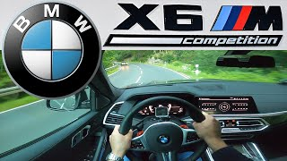 BMW X6 M Competition (2020) Test Drive