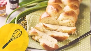 Osterzopf (Striezel) | Saftig süßer Hefezopf | Traditionelle Osterrezepte