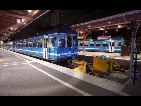 Sweden, Stockholm Östra train station / Tekniska Högskolan subway, 7X elevator, 11X escalator