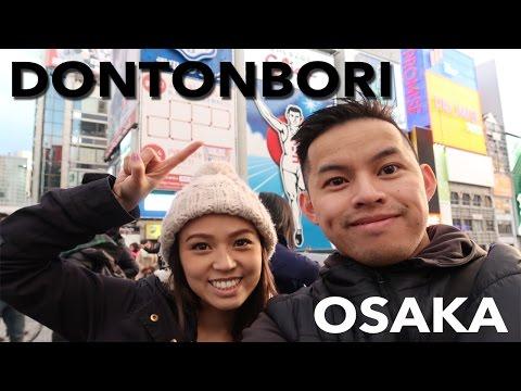 Japan Vlog Part 2- Exploring Osaka Dontonbori