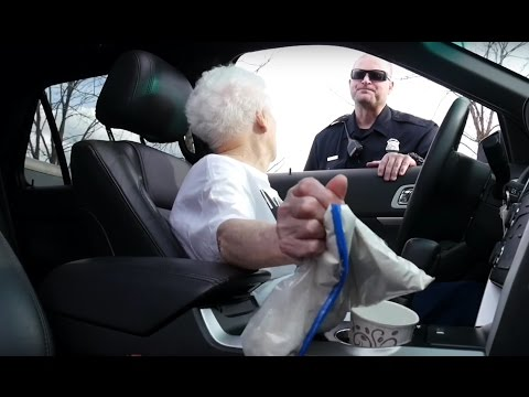 GRANDMA GETS PULLED OVER BY THE COPS!! | Ross Smith