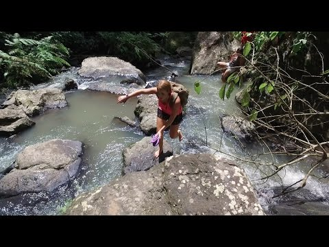 Canadian Girl Dominates Travelling The Philippines (Part 2) - BEAUTIFUL HIDDEN WATERFALL