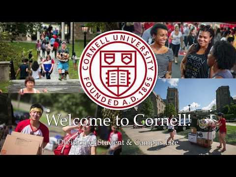 Cornell University Move-In Day 2018