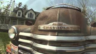 1949 Chevy pick up truck! Original barn find patina vintage classic
