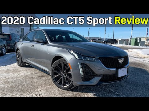 Review 2020 Cadillac Ct5 Sport 2 0t Awd Youtube