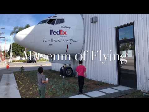 Museum of Flying Santa Monica, California 4K