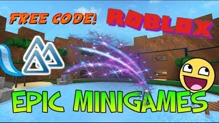 2 FREE EFFECTS IN EPIC MINIGAMES! (ROBLOX Epic Minigames Codes #1)