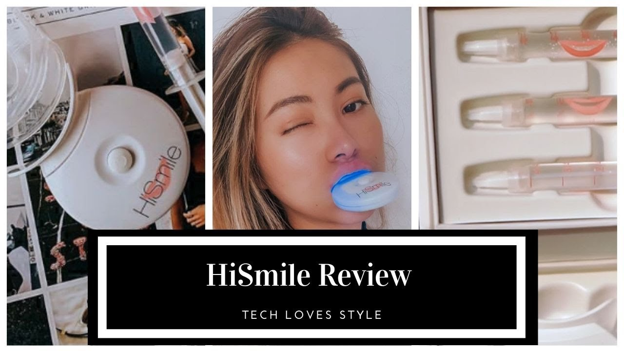 HiSmile Teeth Whitening Kits Review & Tutorial⎜Tech Loves Style