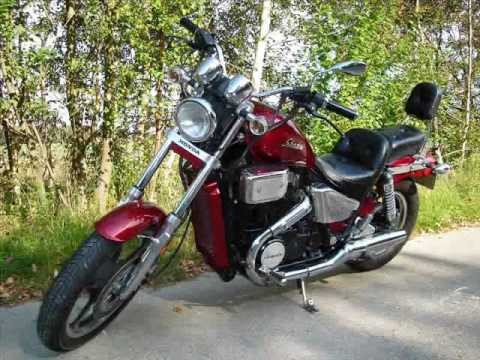 honda vt 750 shadow 86 totally restored youtube. Black Bedroom Furniture Sets. Home Design Ideas