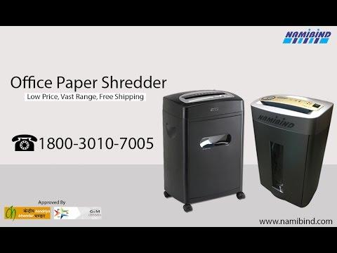 Office Paper Shredder Machine in Nepal-1800-3010-7005-Namibind