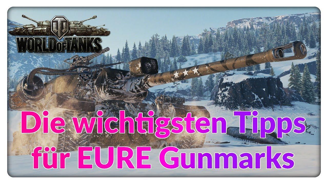 Die wichtigsten Tipps für EURE Gunmarks! [World of Tanks - Gameplay - Tipps - Deutsch]