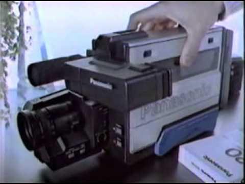 1985 Panasonic Omnimovie Camcorder Commercial Youtube