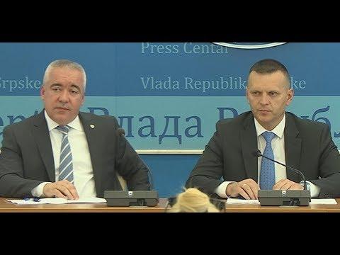 Dragan Lukač i Darko Ćulum, press konferencija 26.12.2018. godine
