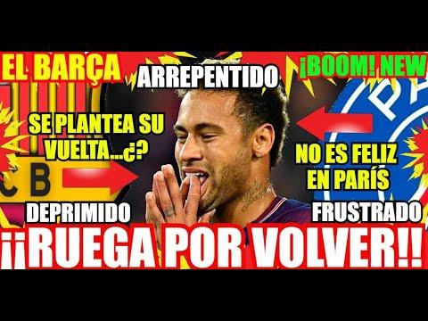 ¡¡EL BARÇA y FICHAR A NEYMAR de VUELTA...!! ¡ÚLTIMA HORA! FC BARCELONA NOTICIAS