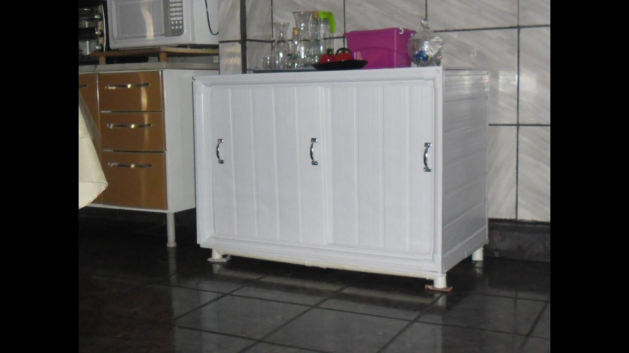 #772F5C BALCÃO DE COZINHA EM PVC FAÇA VOCÊ MESMO PARTE 01.   2080x1560 px Como Fazer Balcão De Cozinha Americana #1701 imagens