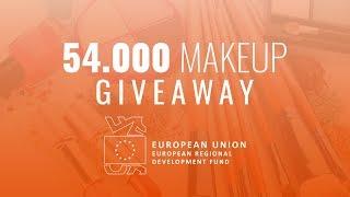54.000 EUR International Makeup Giveaway
