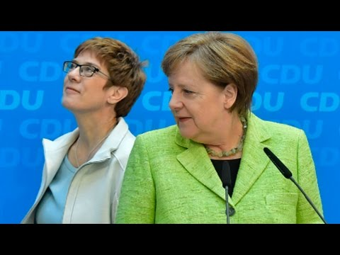 German Regional Vote Strengthens Chancellor Merkel for September General Election (1/2)