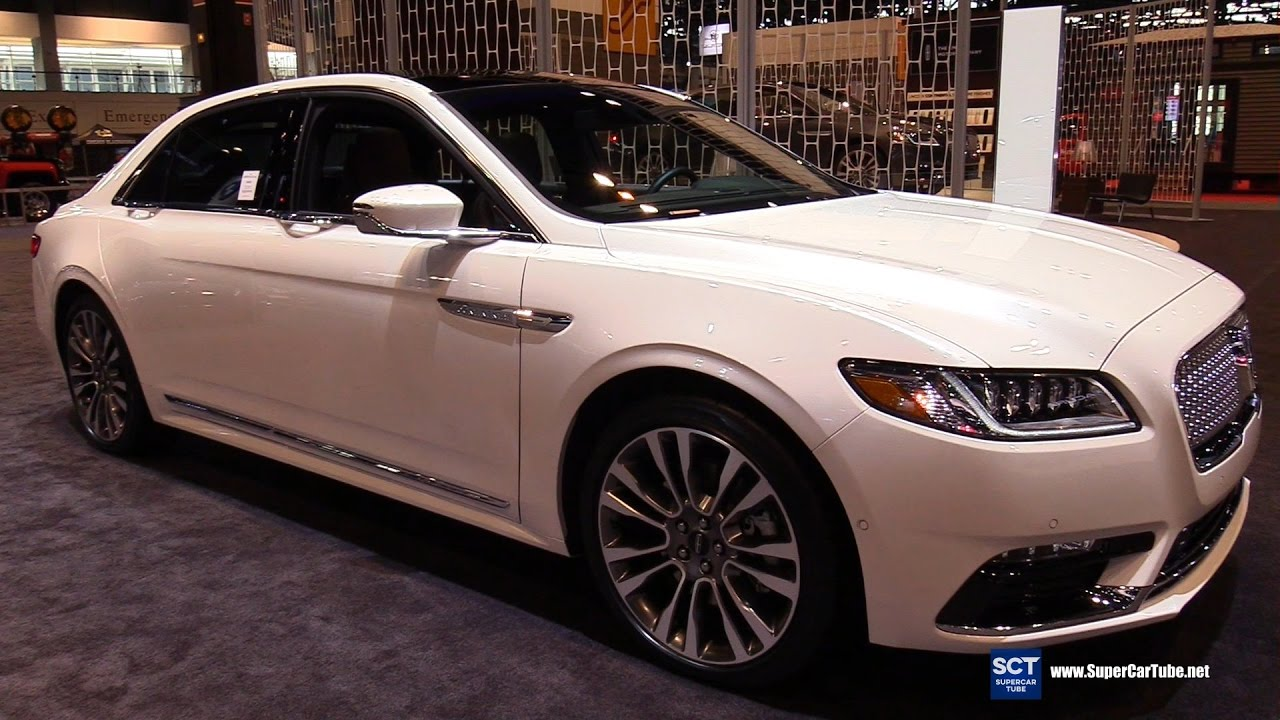 2017 Lincoln Continental Black Label Exterior And Interior Walkaround Chicago Auto Show