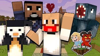 WHO CAN I TRUST !!! - Minecraft Friend Or Foe #1