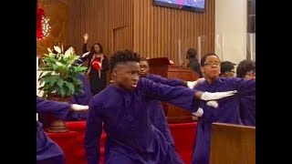 BISHOP PAUL S. MORTON - BOW DOWN AND WORSHIP HIM MIME DANCE
