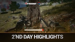 Best highlights of the 2'nd day,  StarSeries i-League PUBG
