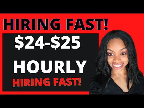 📲 HIRES ASAP $24-$25 Hourly Non Phone Work From Home *MOBILE PHONE FRIENDLY JOBS*