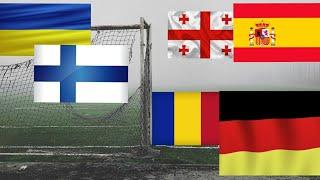 Прогнозы на футбол ГРУЗИЯ ИСПАНИЯ РУМЫНИЯ ГЕРМАНИЯ прогноз 28 03 2021 ставки ставки на футбол