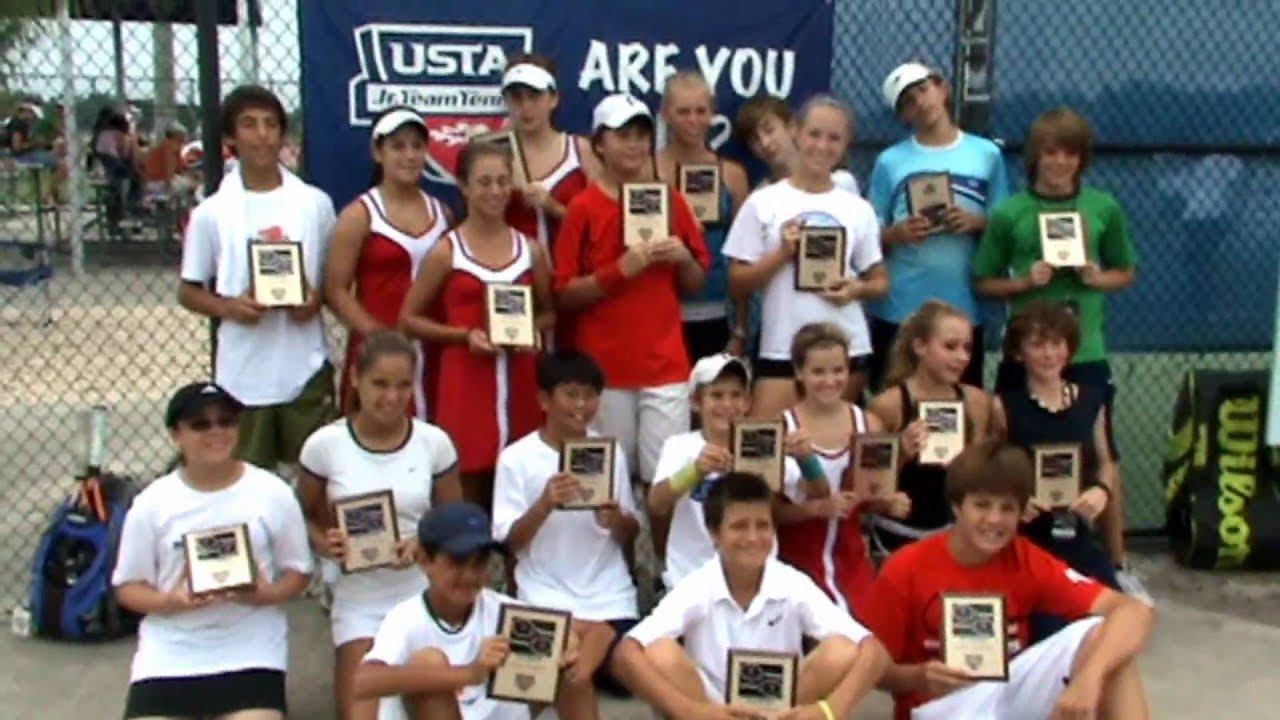 USTA Florida Jr. Team Tennis - YouTube