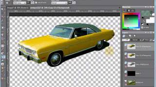 Paint Shop Pro Tutorial - Erase Car Photo Background & Isolate Image by VscorpianC