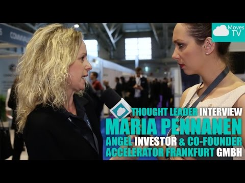 Thought Leader Interview: Maria Pennanen, Angel Investor & Co-Founder – Accelerator Frankfurt
