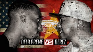 Rap Battle - Dela Preme vs Derez (USA vs VIETNAM)
